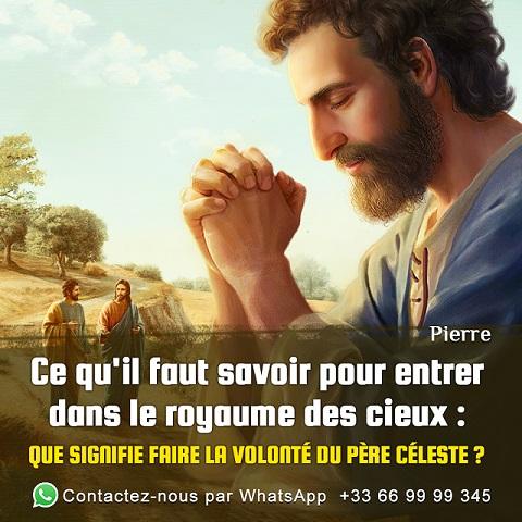 Prière à Dieu